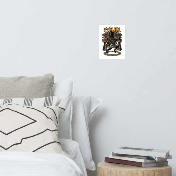 Anubis God of the Underworld Photo paper poster