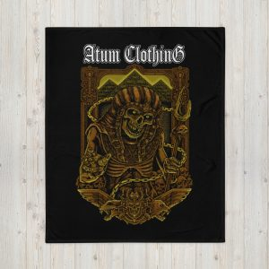 Wrath of Moses Throw Blanket