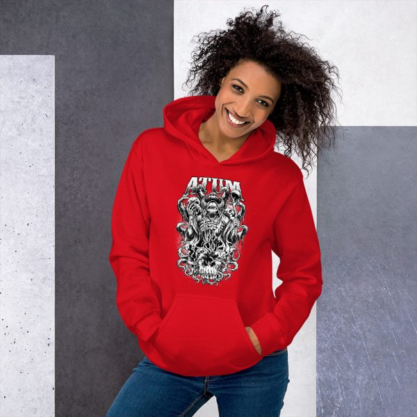 Red Baal legion of hell stylish hoodies for women