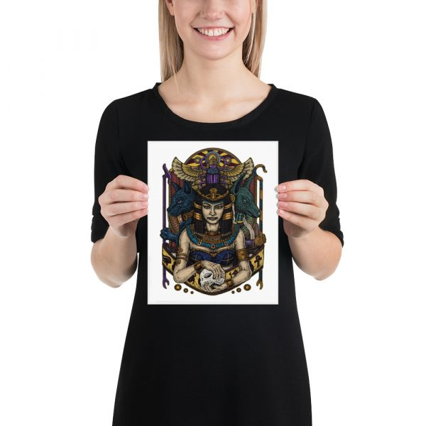 Cleopatra Photo paper poster