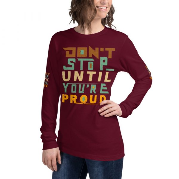 Red Red don't stop shirt women's